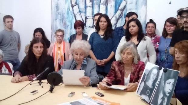 Las Abuelas de Plaza de Mayo celebraron el pedido de la ONU a la Corte que no aplique el 2x1 a criminales de lesa humanidad