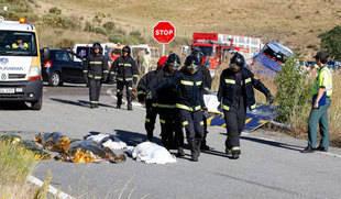 Condenado a tres años y dos meses el conductor del autocar en el que murieron nueve personas en Ávila en 2013