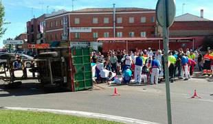 Libertad provisional para el conductor del tractor de Tordesillas, al que se retira el carné