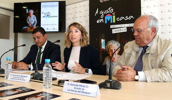 La Junta inicia el proyecto piloto 'A gusto en mi casa' para que los mayores puedan seguir viviendo en sus domicilios