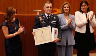El director de la Academia Básica del Aire reivindica la 'perfecta sintonía' entre los ejércitos y la sociedad