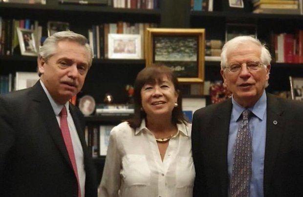 Alberto Fernández felicitó al español Josep Borrell por su designación como jefe de la diplomacia de la UE