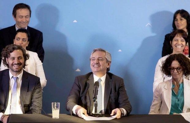 """Alberto Fernández afirmó que """"el Fondo Monetario nos dio la razón"""""""