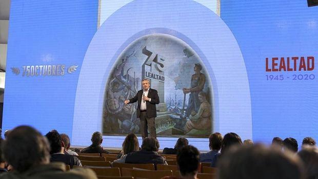 'Hoy empezamos el tiempo de la reconstrucción de la Argentina' aseguró Alberto durante el acto por el 17 de octubre