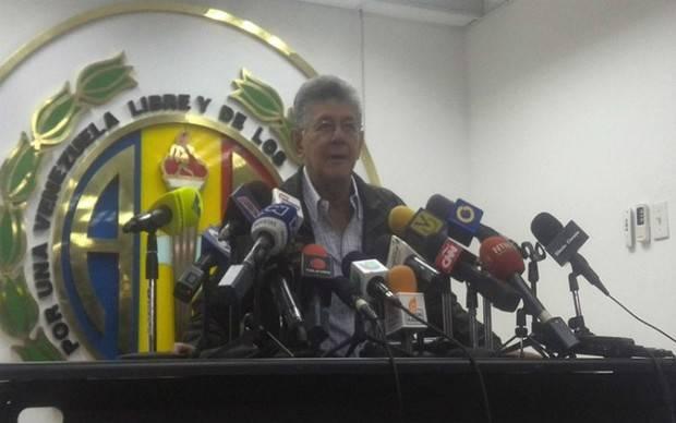 Ramos Allup sostuvo que Gobernadores están autoexcluidos de AD