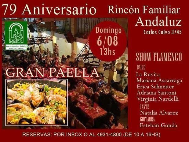 El Rincón Andaluz celebra su 79º aniversario