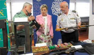 Sesenta y seis detenidos por narcotráfico, tenencia de armas y homicidio