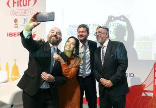 En el marco de FITUR, Argentina fue premiada como destino LGBT 2020