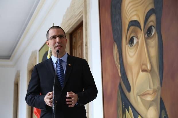 Jorge Arreaza sobre sanciones de EE UU: Fanb jamás se doblegará ante ningún poder extranjero