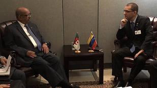 Arreaza se reunió con su par de Argelia para afianzar relaciones