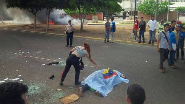 Estudiante de la URBE murió arrollado durante manifestación en Zulia