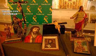 Recuperadas 24 obras de arte e investigadas dos personas por estafa y venta de patrimonio artístico