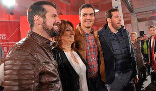 Sánchez dice que España no puede quedar 'varada' por la 'irresponsabilidad secesionista' y la 'inacción' de Rajoy