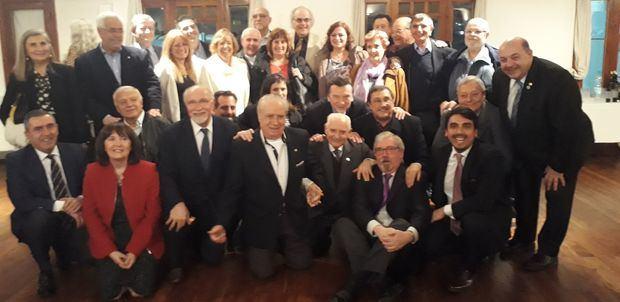 Con un fuerte apoyo, Benito Blanco encara un complejo desafío al frente de la Federación de Sociedades Españolas