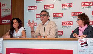 CCOO denuncia que la mitad de la población asalariada de la región se encuentra en situación o riesgo de pobreza