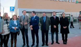De la Serna inaugura la Estación del AVE de Medina del Campo, que entrará en funcionamiento el 18 de diciembre