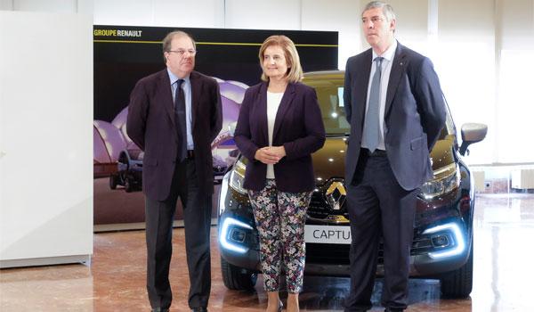 La planta de aluminio de Renault en Valladolid arrancará en 2018 con 100 trabajadores