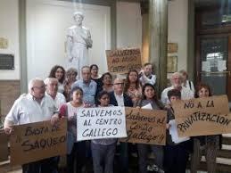 Baltar pidió una solución para la situación del Centro Gallego
