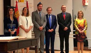 Barcones mantiene en la Delegación su bandera contra la despoblación y confía en devolver a Castilla y León 'esperanza en el futuro'