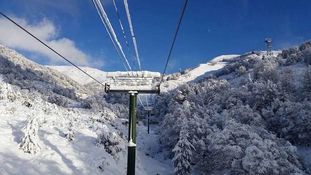 Con 25º bajo cero Bariloche registró la temperatura más baja de su historia