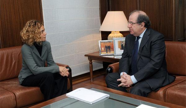 Herrera se reúne con Batet para definir los temas que trasladará a Sánchez en la reunión