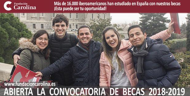 La Fundación Carolina ofrece 648 becas para estudiantes iberoamericanos