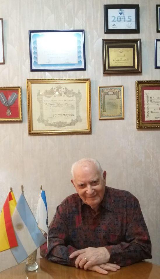 Benito Blanco resaltó la solidaridad de los centros españoles ante la pandemia