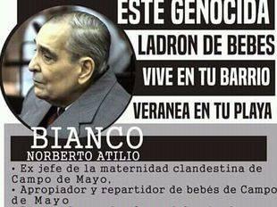 Las Abuelas de Plaza de Mayo repudian beneficios a Bianco