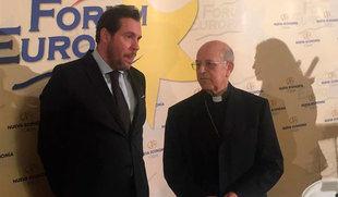 Óscar Puente reivindica una política que no esté 'de espaldas a la religión' porque tienen 'objetivos compartidos'