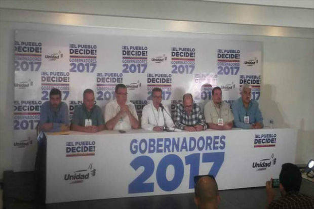 MUD denuncia operación morrocoy al inicio de jornada electoral