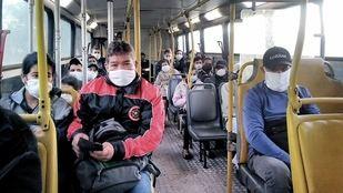 Unas pascuas que llegan con aumento del boleto del colectivo