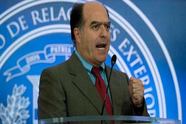 Borges: No aceptaremos un acuerdo que signifique quitar la democracia en Venezuela