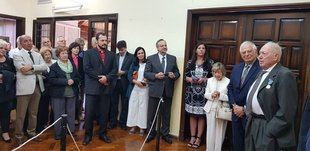 Borrell cenó con el gobernador mendocino y condecoró al empresario murciano Felipe Andreu