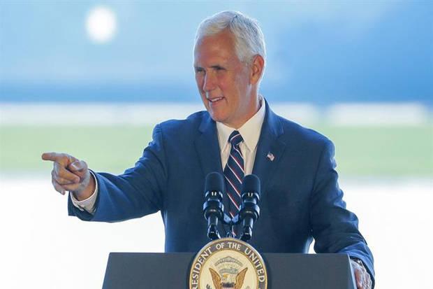 Vicepresidente de EE.UU. urge a condenar 'el abuso de poder' en Venezuela