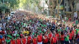 Celebran los 23 años del Caminatón en el día mundial de la lucha contra el SIDA