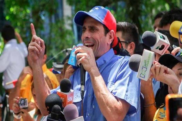 Capriles denuncia que diputada D'Elia fue inhabilitada por 15 años