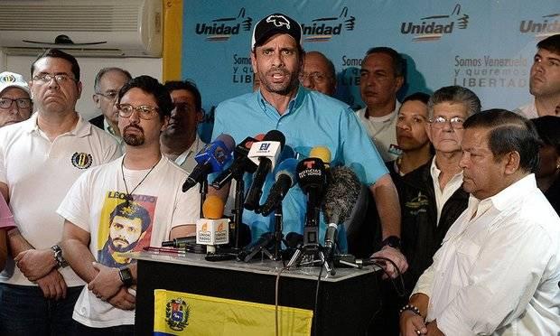 Capriles dice nuevo Parlamento se instalará pese a impugnación oficialista