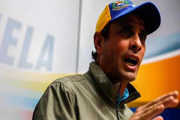 Capriles rechazó detención de periodistas en el Metro de Caracas