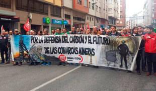 Dos mil personas defienden en Ponferrada (León) el carbón y el futuro de las cuencas mineras