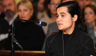 Triana Mart�nez suplica entre sollozos que se le conceda la libertad provisional