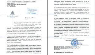 El alcalde de Pajares de la Laguna pide disculpas y argumenta que la carta no es 'un ataque personal'
