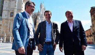 Casado cree que su candidatura es 'única y de integración' y que cualquier otra 'podría fracturar el partido'