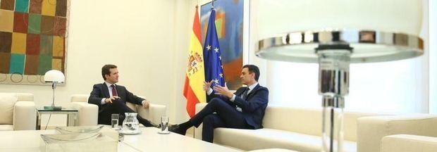Casado no facilitará la investidura de Sánchez pero pide a Ciudadanos que lo haga