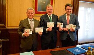 Correos edita dos sellos sobre la provincia y la ciudad de León y en uno incluye la imagen de la Catedral de Burgos