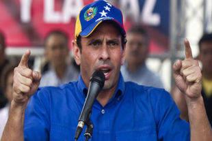 Capriles sostuvo la fiscal ha empezado a hablar y yo soy el primero que aplaude