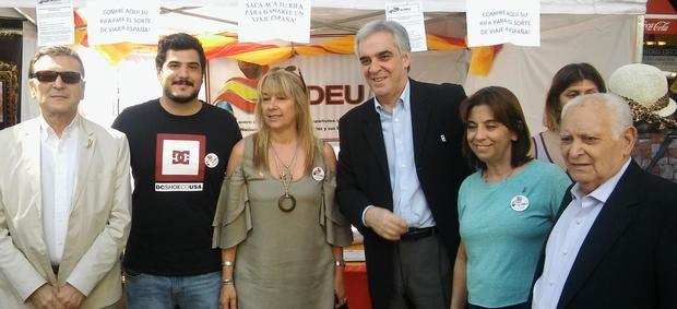 CEDEU llevó su pedido de ampliación de nacionalidad al Buenos Aires Celebra España
