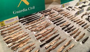 Detenidas cuatro personas y recuperadas 92 piezas celtibéricas de gran valor histórico en Burgos