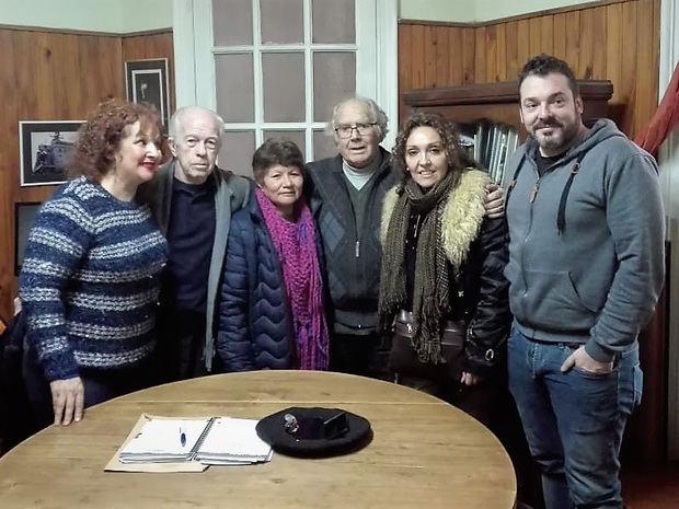Adolfo Pérez Esquivel se comprometió con la lucha de socios y trabajadores del Centro Gallego