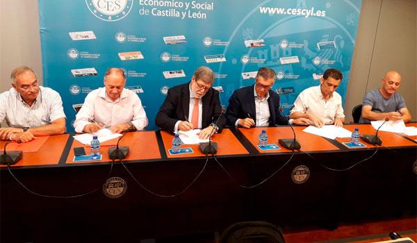 Sindicatos y patronal trasladan a Castilla y León el acuerdo estatal para la negociación colectiva