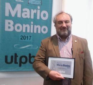 Gremio de prensa galardonó a periodista del sector Minero por su actividad y trayectoria